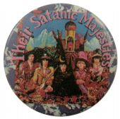 The Rolling Stones - 'Their Satanic Majesties' Button Badge